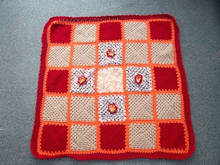 Ladies over on MSE sent these Squares to Chalky75 who very kindly made the Blanket and donated to SIBOL! Wow! | by MRS TWINS/SIBOL 'Sunshine International Blankets