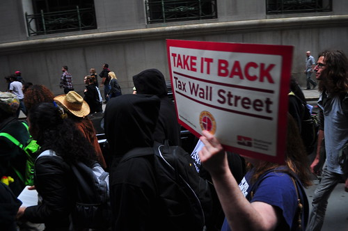 #OccupyWallStreet | by Time's Up! Environmental Organization