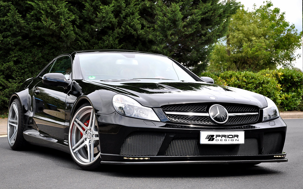 Mercedes Benz Sl Black Series Conversion Facelift Convers Flickr