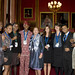 8 September 2011: The Lord Speaker with delegates at a networking opportunity at Speaker's House