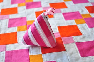 Zip-itself coin purse and pillow top | by Diane {from blank pages...}