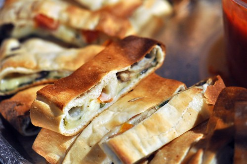 Vegetable Stromboli from Sarefino's | by swampkitty