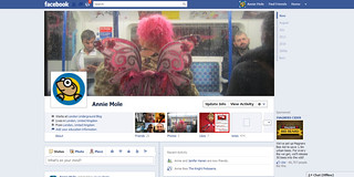 Annie Mole New Facebook Timeline | by Annie Mole