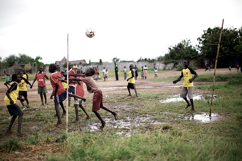 Boys playing soccer | by sidelife