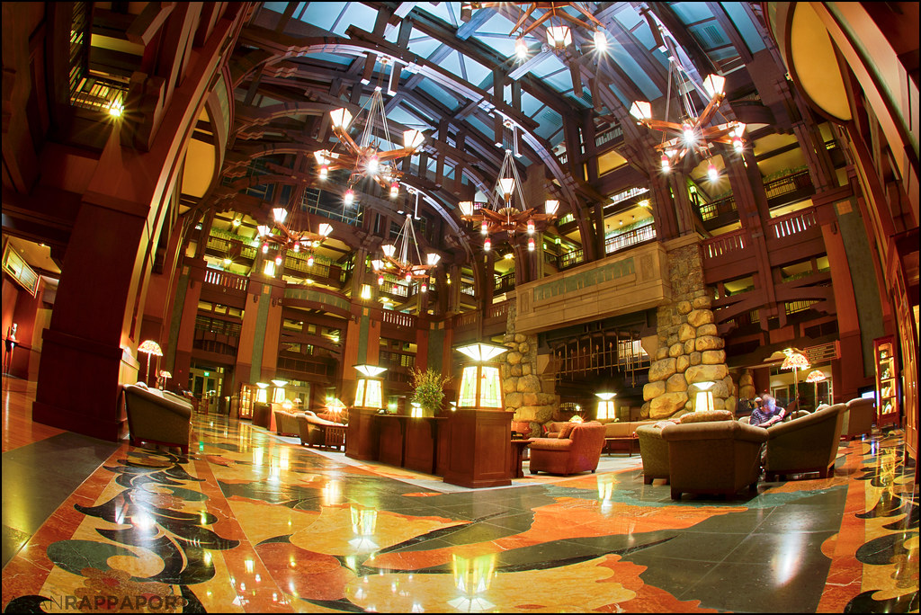 Grand Lobby Disney S Grand Californian Here S Another