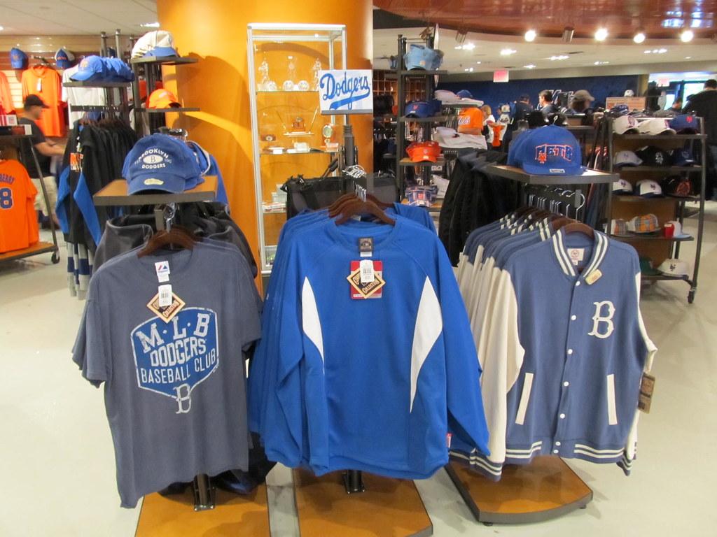 Mets Team Store at Citi Field, 09/28/11: Brooklyn Dodgers … | Flickr