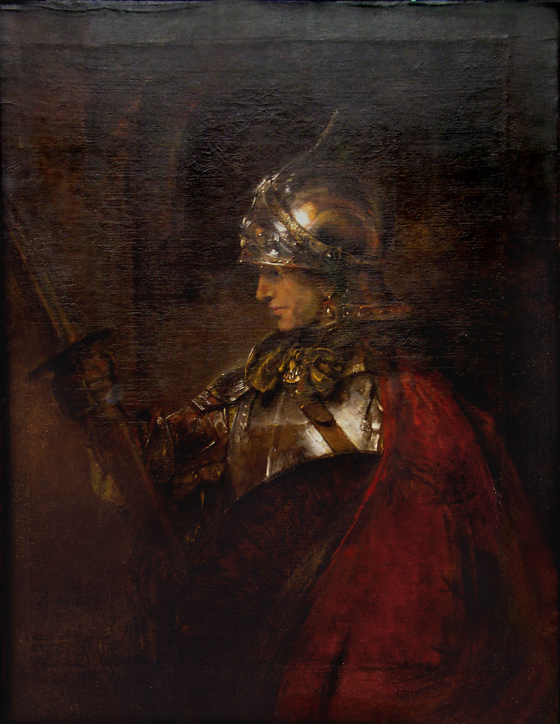 S Symbol Images Rembrandt 'A Man in Ar...