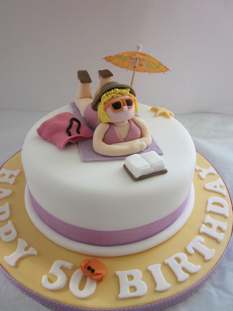 Cake Images Sagar : Sunbathing cake Sammy Sagar Flickr