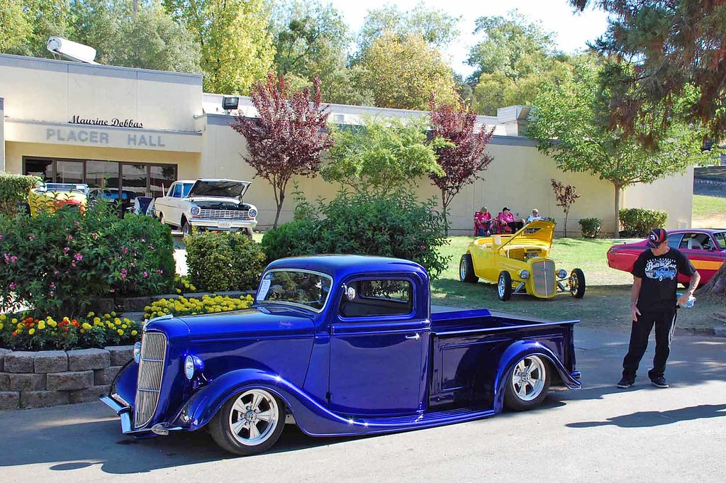1936 Ford Pickup Owner Jack Hogan Oroville Ca A Blast