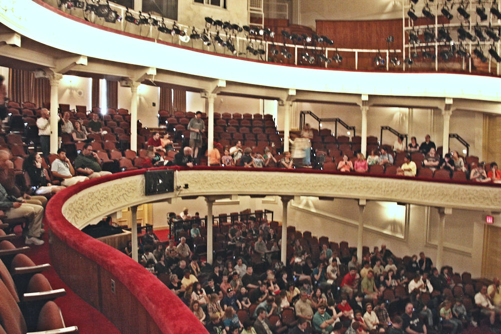 Fords Theatre Looking Left Across The Orchestra And Balc