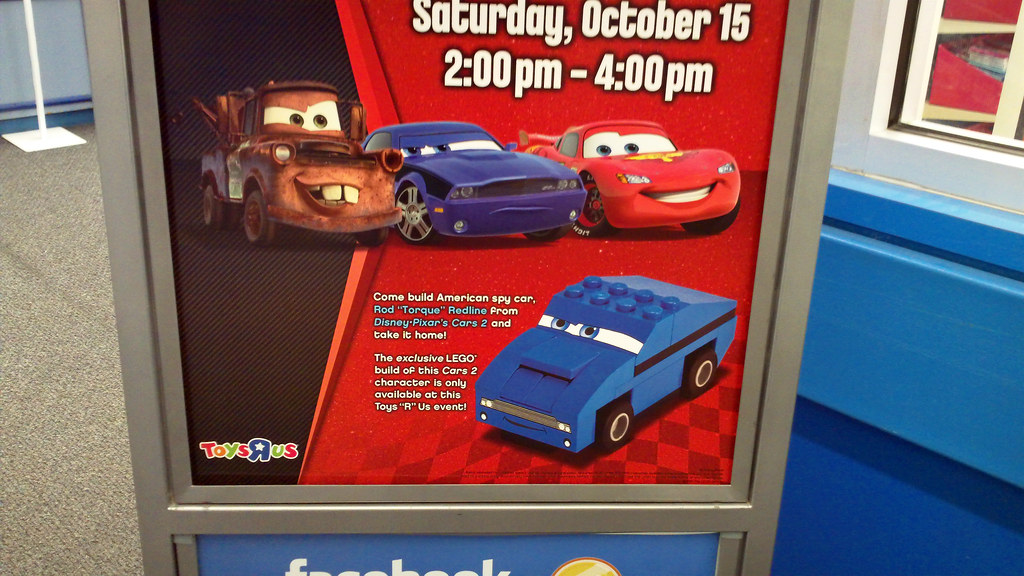 Toys R Us Toy Cars : Lego cars event at toys r us a build tru where