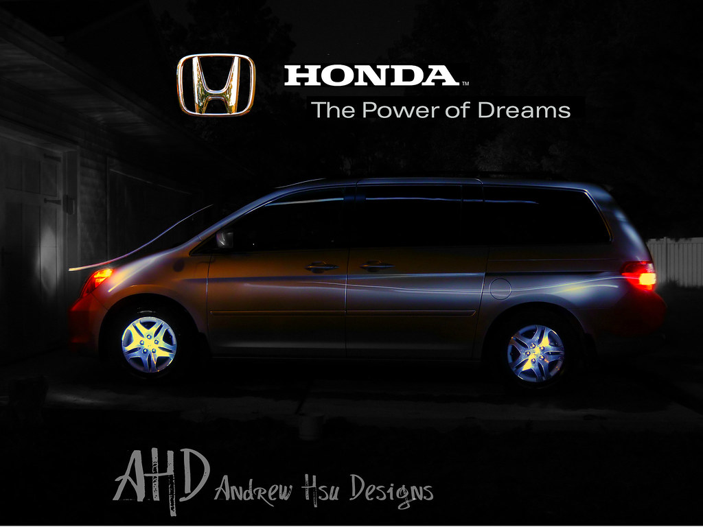 Honda Odyssey Power Of Dreams I Created This Myself