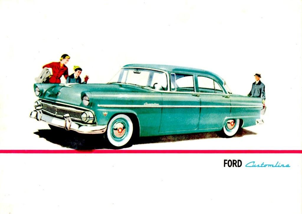 1955 ford customline 4 door sedan portugal alden for 1955 ford customline 2 door