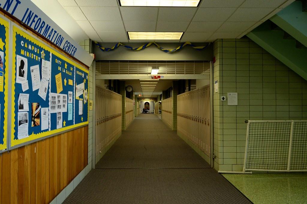De La Salle Institute Hallway Built In 1954 As A Quot Modern