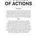 a series of actions