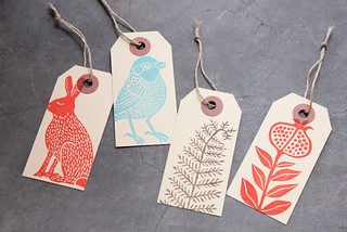 Stamped Tags | by Geninne