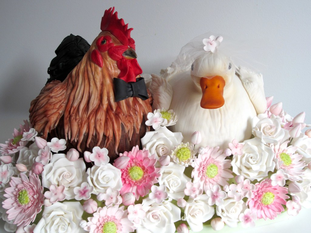 Chicken Cake Images