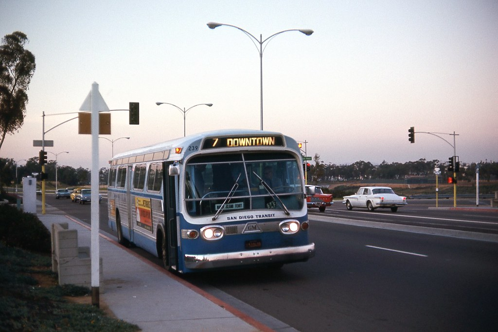 Gmc San Diego >> San Diego Transit Corp. 239 | Photo by Ronald Johnsen and us… | Flickr