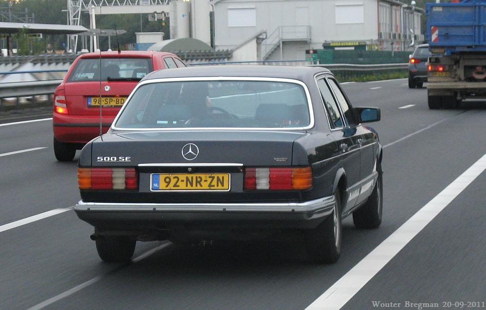Mercedes w126 500se 1985 wouter bregman flickr for Mercedes benz 500se