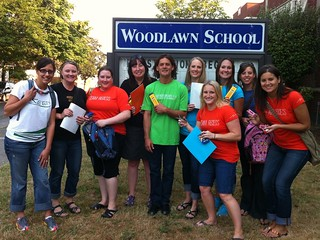 Backpack Donation with Schoolhouse Supplies at Woodlawn Elementary (7) | by KEEN Footwear