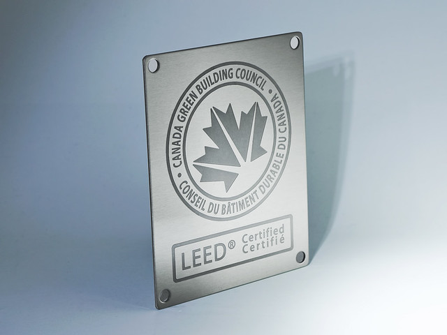 Leed Canada Residential Plaques Flickr Photo Sharing