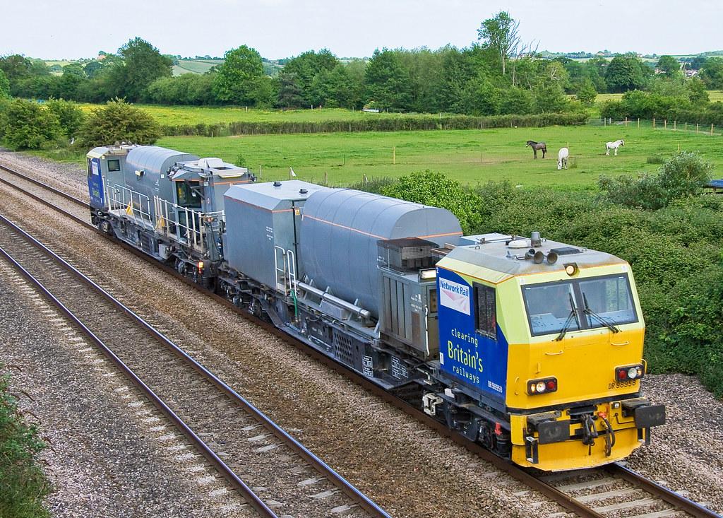 Windhoff Mpv Weedkiller Creech St Michael Network Rail