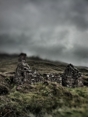 abandoned cottage, Achill Island | by iNOLOGIST