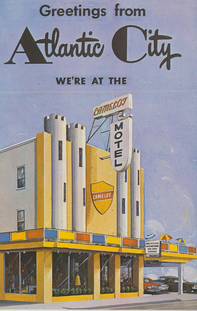 Camelot Motel - Atlantic City, New Jersey