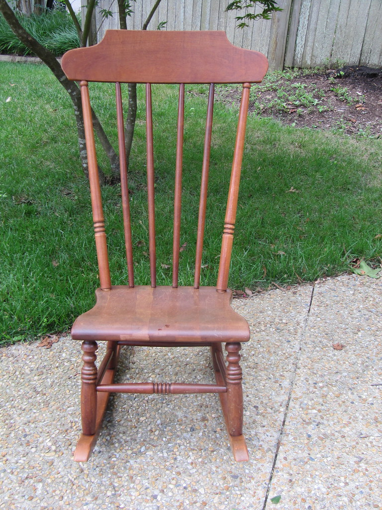 Vintage Armless Rocking Chair Adorable Armless Rocking