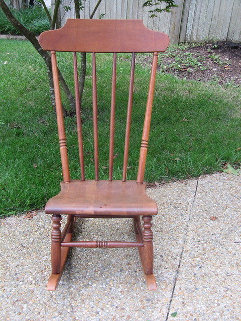 Vintage Armless Rocking Chair Flickr Photo Sharing