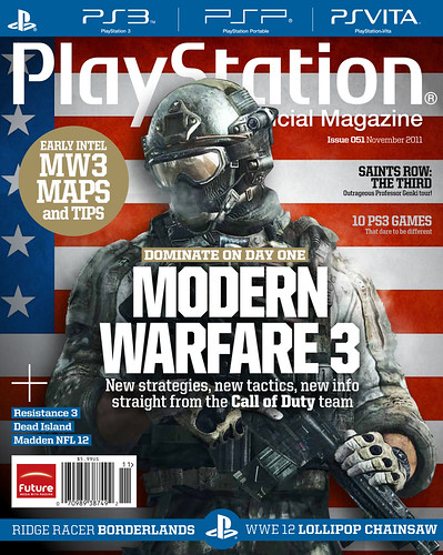 PTOM November 2011 Cover | by PlayStation.Blog