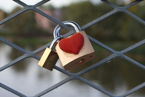 Two Padlocks - Love Triangle? | by tarmo888
