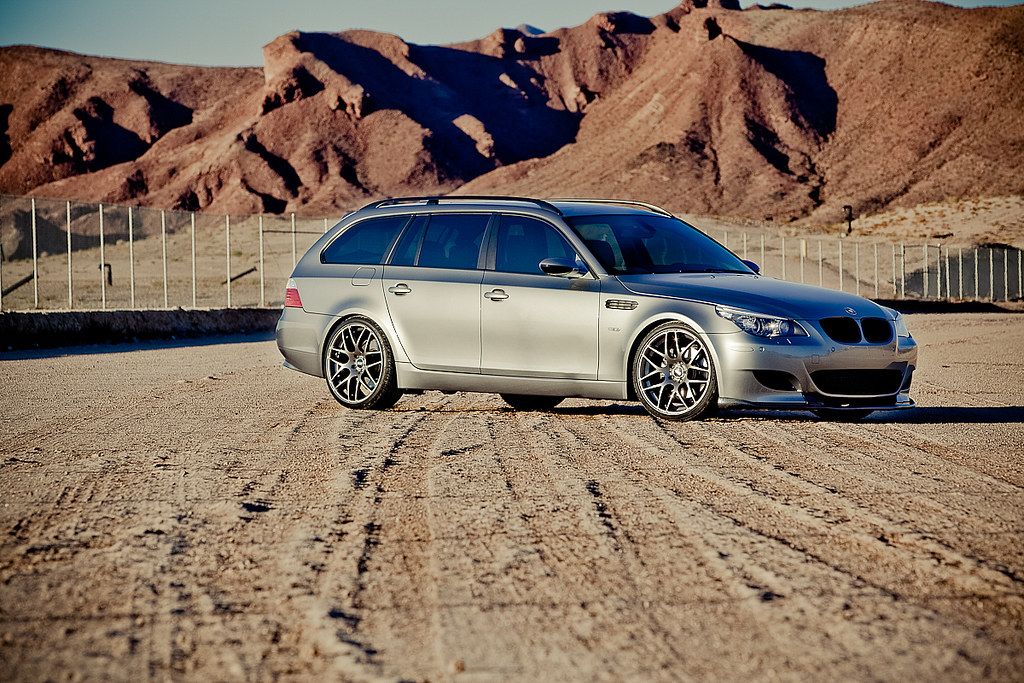 My BMW 535 Touring | BMW 535xi Touring with OEM M5 Front End… | Flickr