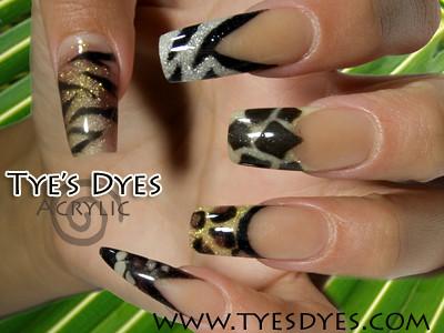 Jungle Nails Tiger Cheetah Giraffe Snake Lion Jungle A Flickr