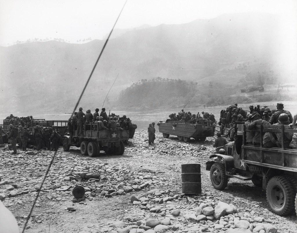 River Crossing, 25 April 1951