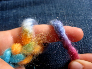 how to finger knit | by Cathy @ Nurturestore.co.uk