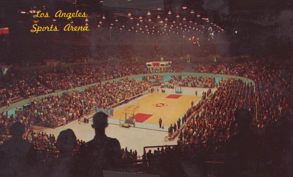 Memorial Sports Arena - Los Angeles, California   With a ...
