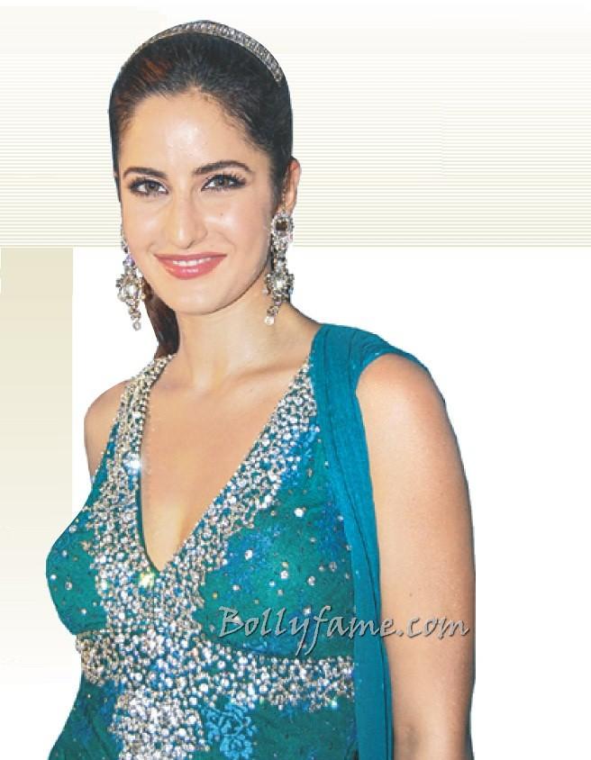 Katrina Kaif Looks Gorgeous In Blue Dress - Wwwbollyfame -5803