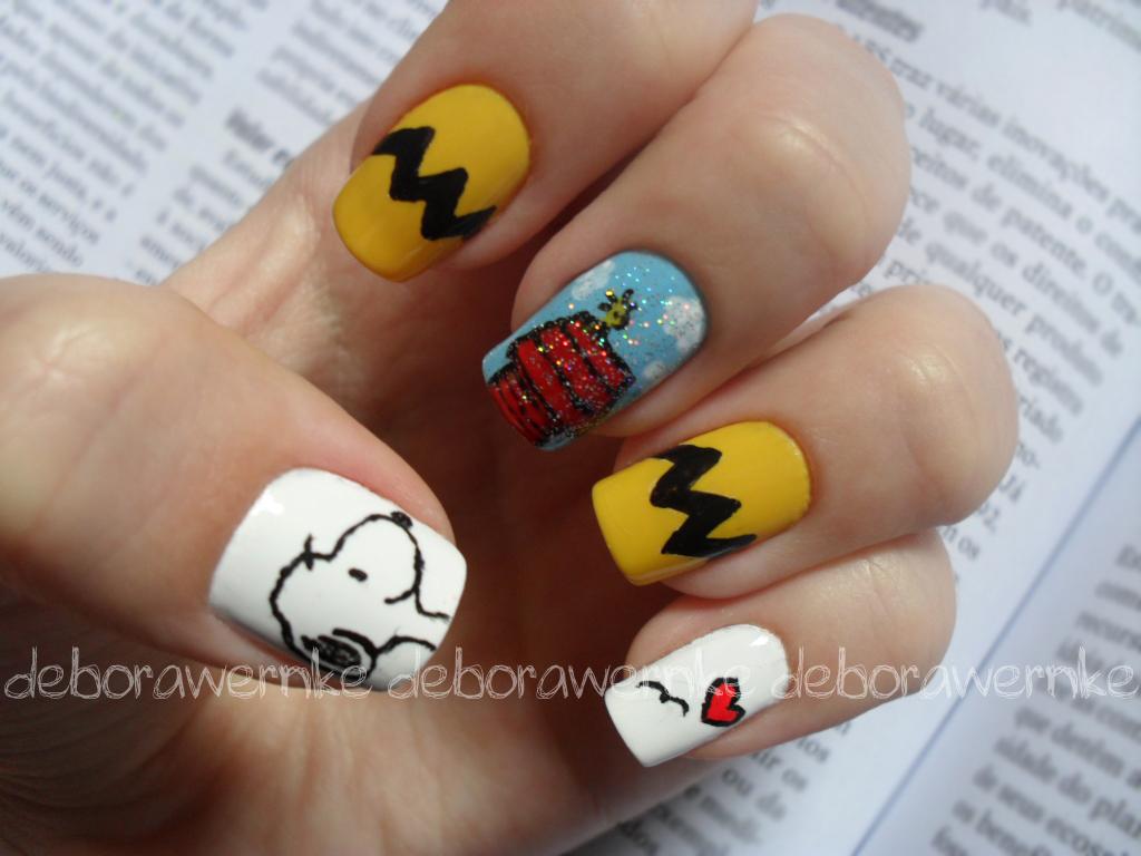 ... Nail Art - Snoopy Lovers (Especial dia das crianças) | by DéboraWernke - Nail Art - Snoopy Lovers (Especial Dia Das Crianças) Flickr