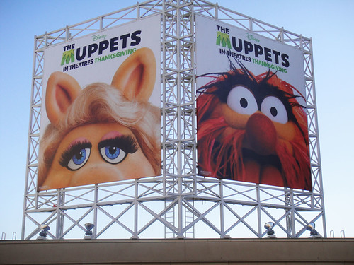The Muppets billboards on Hollywood Blvd | by Doug Kline