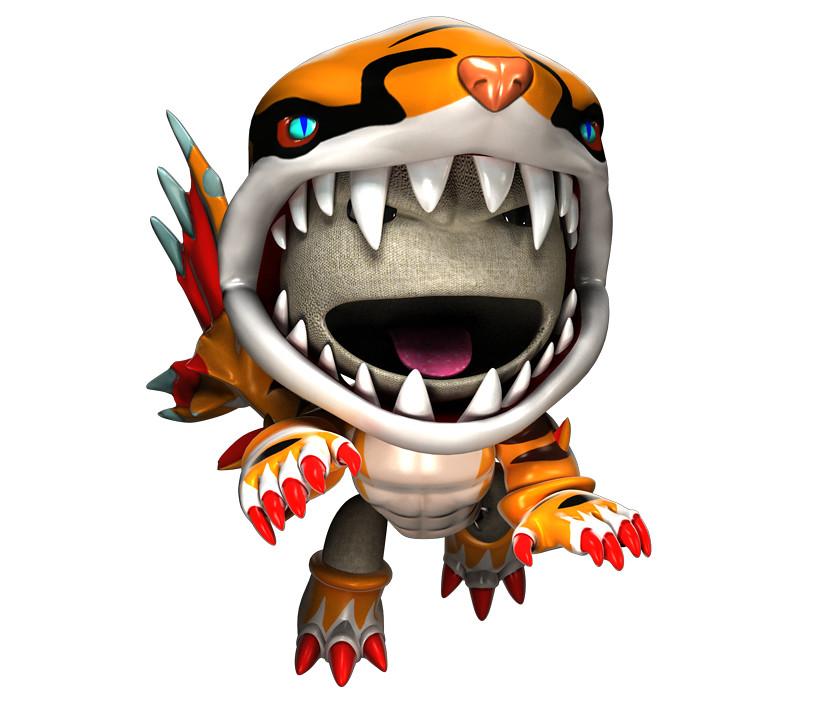 Psp invizimals shadow zone costumes tigershark sack it t flickr - Tigershark invizimals ...