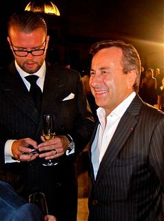 Chef Daniel Boulud (right) and Festival co-founder David Bernahl | by jayweston4