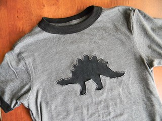 stegosaurus tee | by teaginny
