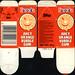 Ireland - Topps - Bazooka Juicy Orange Bubble Gum carton package - 1980's 1990's