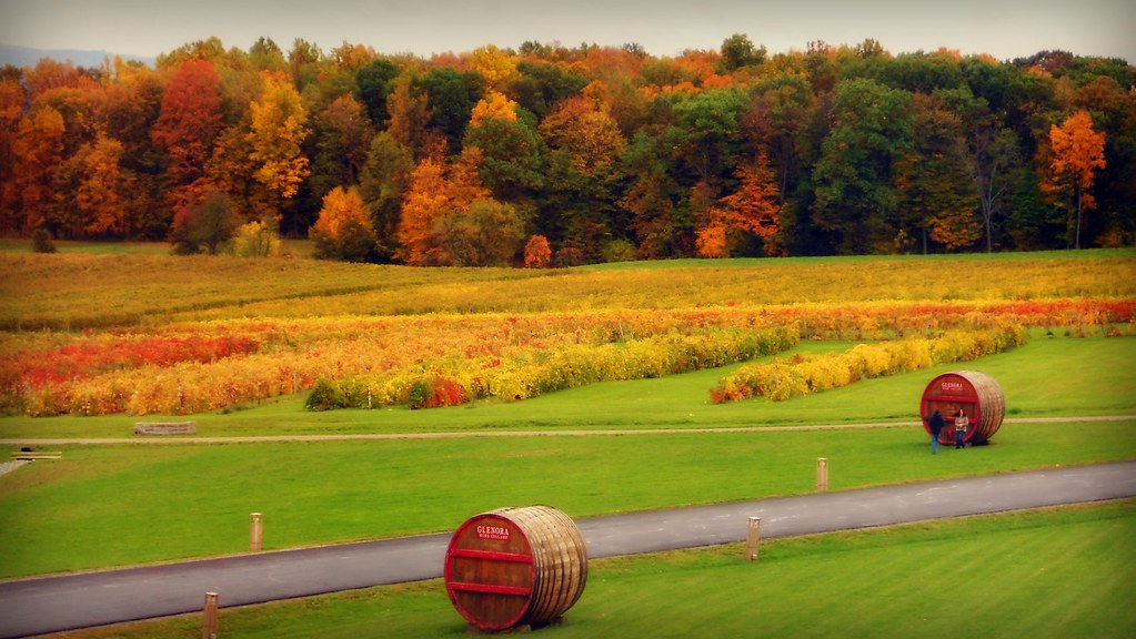 Autumn Landscape   by blmiers2 Autumn Landscape   by blmiers2 & Autumn Landscape   Autumn Landscape Glenora Wine Cellars Duu2026   Flickr