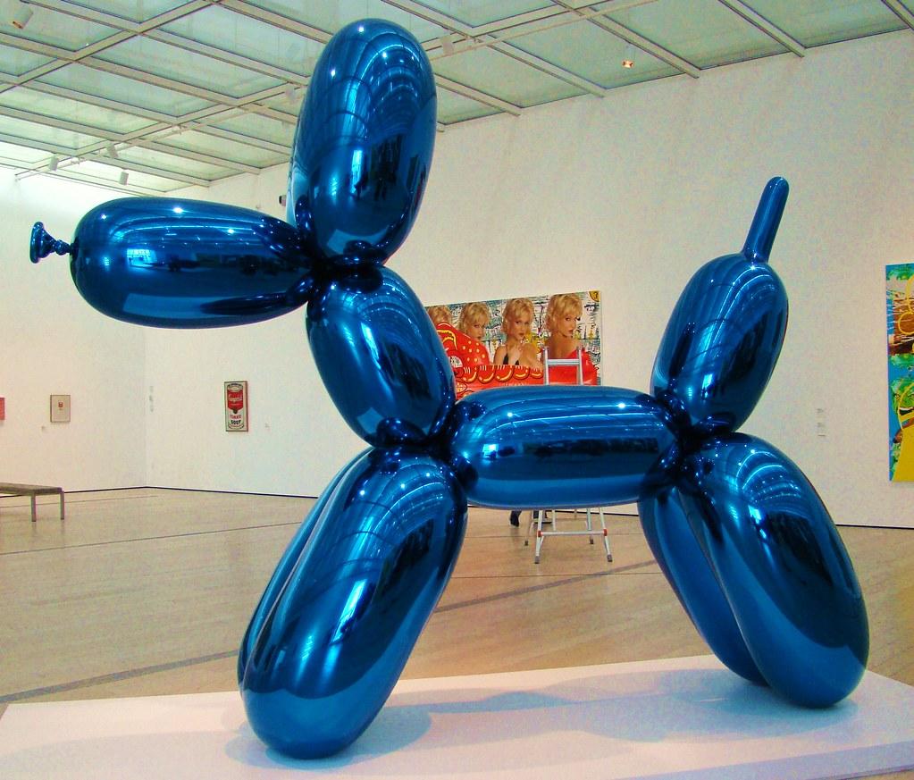 Jeff Koons on Balloon Dog Yellow 19942000