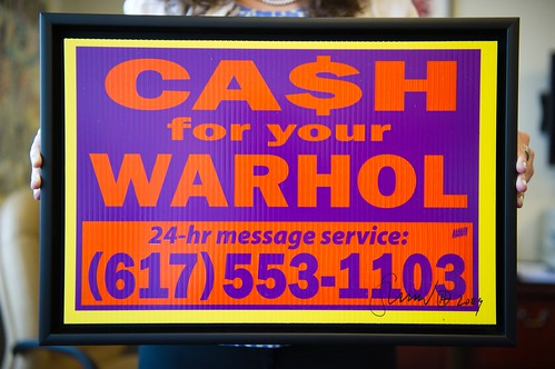 Cash For Your Warhol (Orange/Purple) | by hargo
