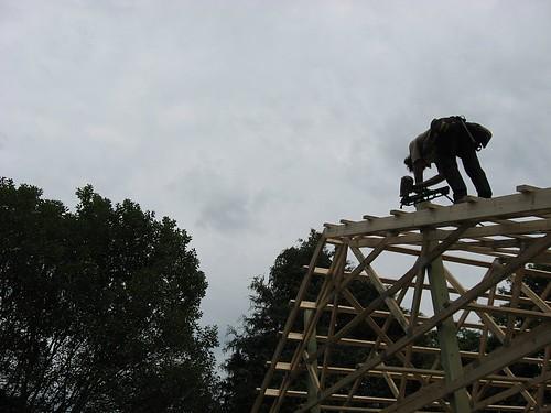24 x 48 x 12 DIY Pole Barn | A few final finishing ...