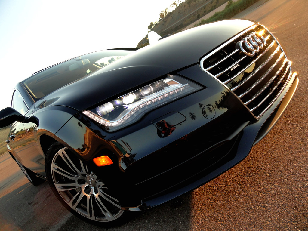 Headlights For Cars >> 2012 Audi A7 LED Daytime Headlights | Maria Palma | Flickr