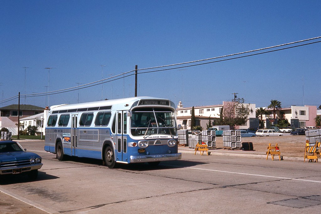 San Diego Transit Corp 619 Photo By Ronald Johnsen And